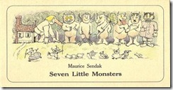 Seven Little Monsters - frontispiece