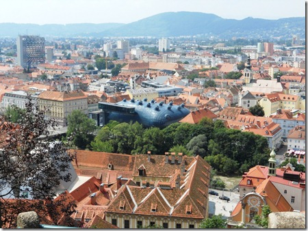 מוזיאון האמנות, מבט מהשלוסברג