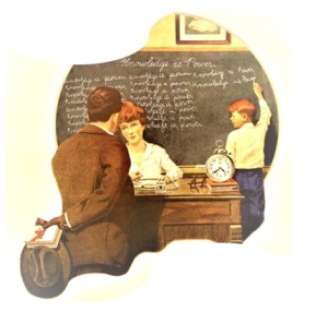 Norman Rockwell, Knowledge is Power